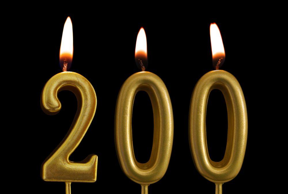 #200 – Reflecting At The 200 Blog Milestone