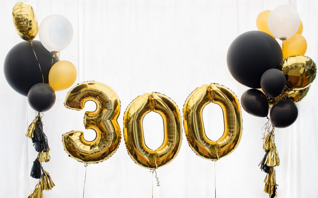 #300 – Using The 300 Blog Milestone To Make Changes