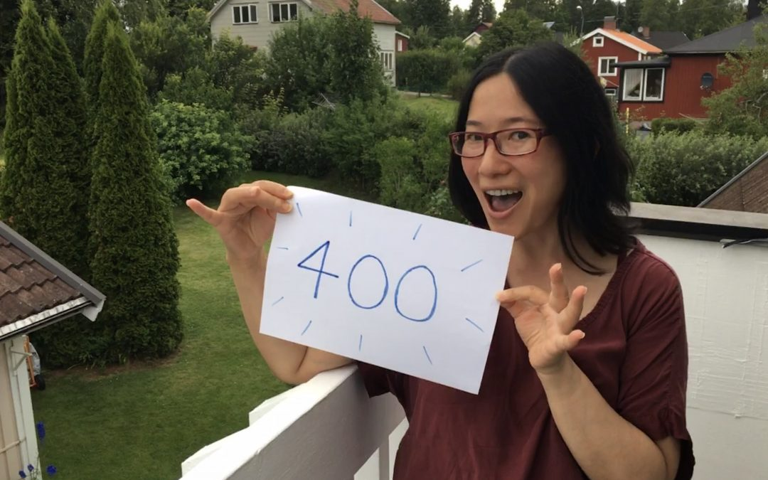 #400 – It's Important To Celebrate
