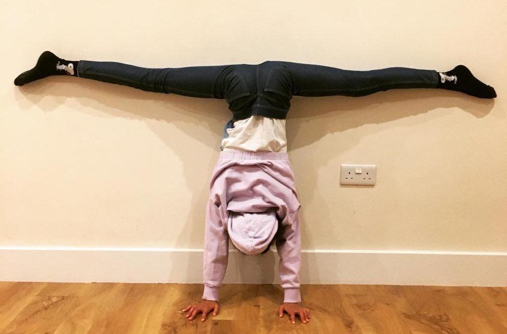 #530 – Handstands for Orphans